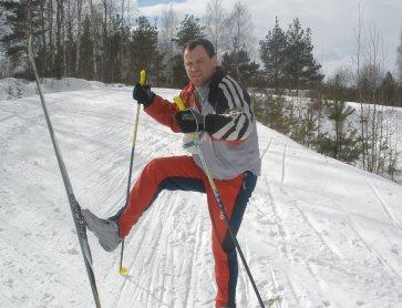 werrr-012 Лыжный апрельский Уикенд - активный отдых интернет-предпринимателя
