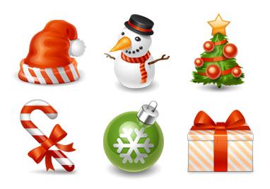 free_christmas_icons Новогодние украшения для блога/сайта : RSS-иконки, аватарки, новогодние плагины для Wordpress