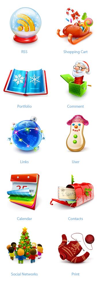 large-preview1 Новогодние украшения для блога/сайта : RSS-иконки, аватарки, новогодние плагины для Wordpress