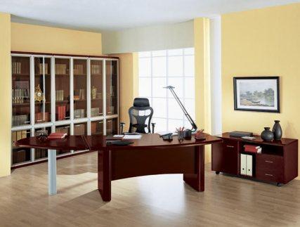 b385 Элементы интерьера кабинета руководителя бизнеса