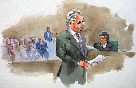 Bernard_Madoff_courtroom_sketch Адвокат - как часть правового общества