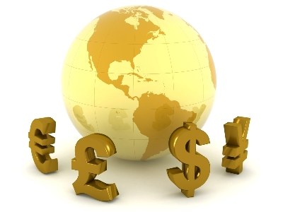globe-5 Основание экономического мира валютного рынка Forex
