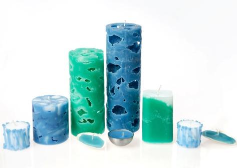 candles-aqua Идея для малого бизнеса: заработок на хенд-мэйде (Hand-Made)  - изготовление декоративных свечей