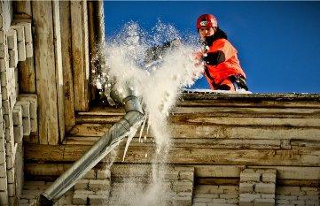 505222a0de47c8cdd92555aca54d8a451 Бизнес идеи: крыши домов и их очистка