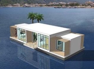 familynoma Бизнес идеи: Плавучие дома — лучший выход для строительства