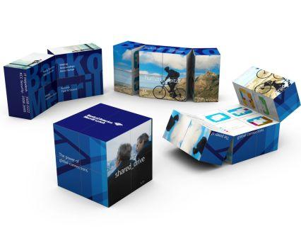 66 Кубики-трансформеры как уникальный маркетинговый подарок