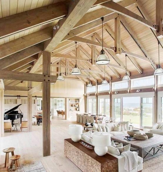 barnhouseinterior Дом-амбар, сарай HI-tech или новый модный тренд в архитектуре загородного дома