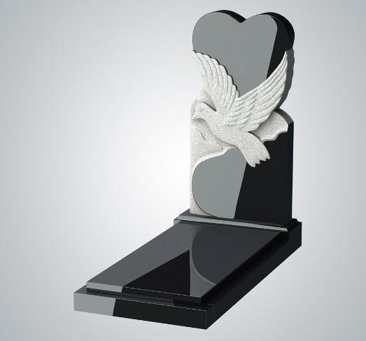 91 Памятники из гранита: преимущества и особенности